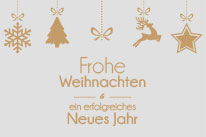 Frohe Weihnachten und ein erfolgreiches Neues Jahr 2018