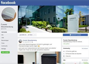 FUSSEIS und TREUPART sind auf Facebook