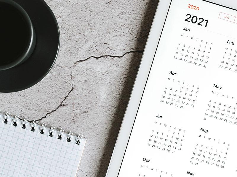 Steuertermine 2021