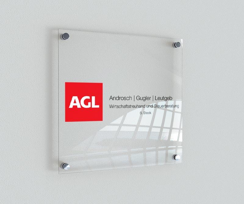 Türschild AGL